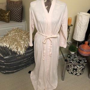 Calvin Klein Long Cotton Robe